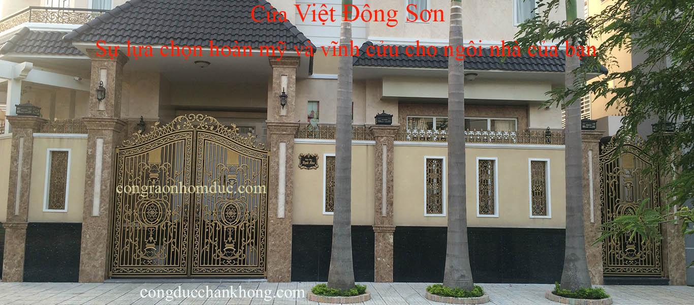 cong nhom duc | cong nhom duc chan khong | cong biet thu | Viet Dong Son